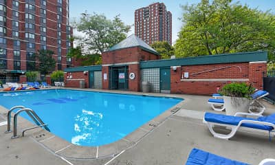 Pool, Park Place Towers, 0