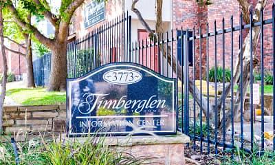 Community Signage, Timberglen, 2