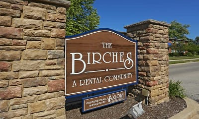 Community Signage, The Birches, 2