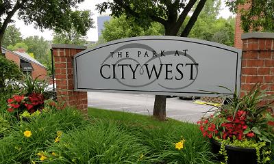Community Signage, Park At City West, 1