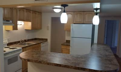 Kitchen, Cedar Run Condominiums, 1