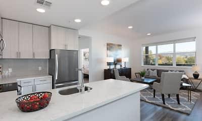 Kitchen, Sunsweet Apartments, 2