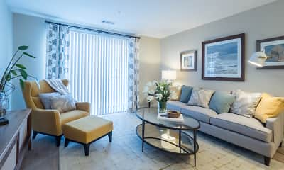 Living Room, Residences at Riverwalk, 0