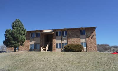 Building, Pinon Manor Apartments, 1