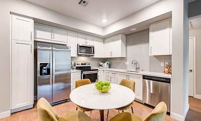 Kitchen, The Summit Apartments, 1