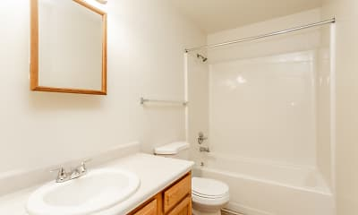 Bathroom, Rock River Townhomes, 2