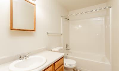 Bathroom, Rock River Townhomes, 2
