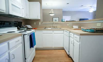 Kitchen, Coursey Place Apartment Homes, 0