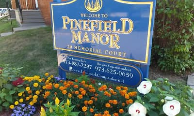 Community Signage, Pinefield Manor, 2