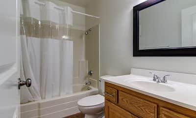Bathroom, Regency Plaza Apartments, 2