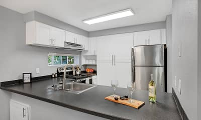 Kitchen, Park South, 1