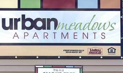Community Signage, Urban Meadows, 2