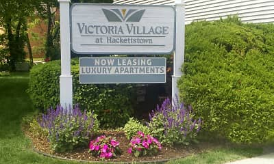 Community Signage, Victoria Village Apartments, 1