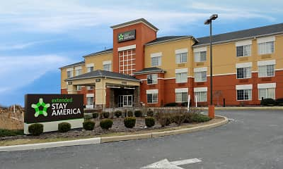 Building, Furnished Studio - Meadowlands - East Rutherford, 1