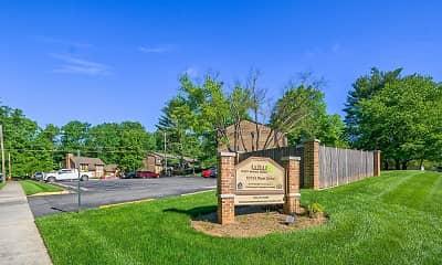 Community Signage, West Wood Oaks, 1