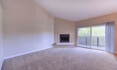 Living Room, Ridgedale Apartments, 2