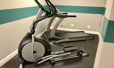 Fitness Weight Room, Villas at the Vineyard, 2