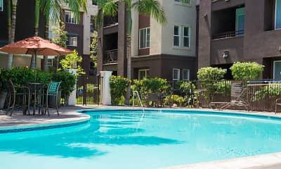 Pool, Jefferson at Marina del Rey, 0