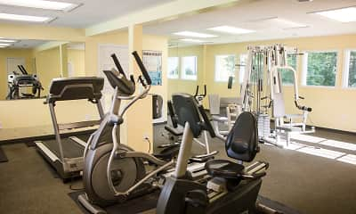 Fitness Weight Room, County Green Apartments, 2