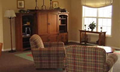 Living Room, Green Meadows, 1