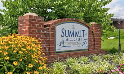 Community Signage, The Summit at Mill Creek, 2