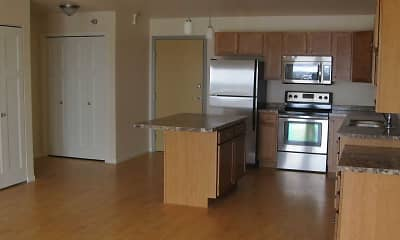 Kitchen, Timber Ridge Apartments, 1