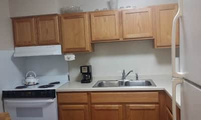 Kitchen, Countryside Village Apartments, 1