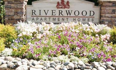 Community Signage, Riverwood Apartments, 0