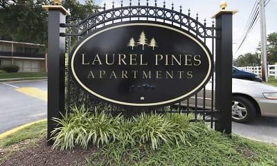 Community Signage, Laurel Pines, 2