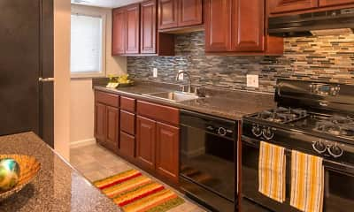 Kitchen, University Apartments, 0