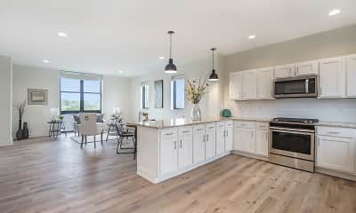 Kitchen, Portview Townhomes, 0