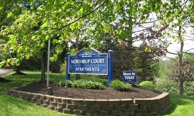 Community Signage, Northrup Court, 2
