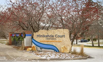 Community Signage, Minikahda Court Apartments, 2
