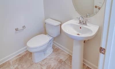 Bathroom, Huntington Townhomes, 2