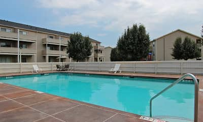 Pool, Garners Crossing Apartments, 0