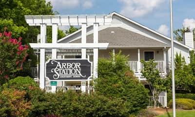 Community Signage, Arbor Station, 1