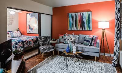 Living Room, Heritage Apartments, 0