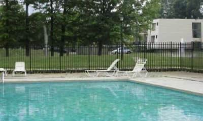 Pool, Whispering Oaks Apartments, 2