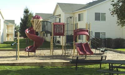 Playground, Turnberry Apartments, 1