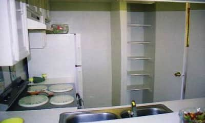 Kitchen, On The Lake Apartments, 1