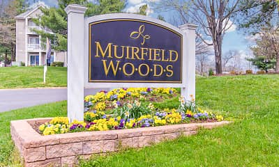 Community Signage, Muirfield Woods, 2