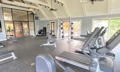 Fitness Weight Room, Northwoods, 2