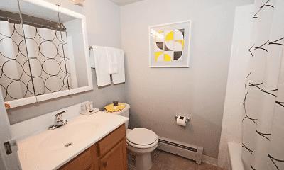 Bathroom, Korman Residential at The Villas, 2