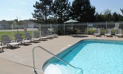 Pool, Barton Farms Apartments And Duplexes, 2