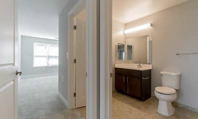 Bathroom, Rainier Manor Apartments - Senior Living 62+, 2