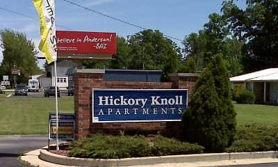 Community Signage, Hickory Knoll Apartments, 1