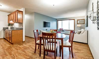 Dining Room, Springwood Apartments, 0