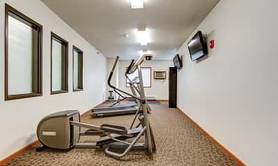 Fitness Weight Room, Dakota Crossing, 2