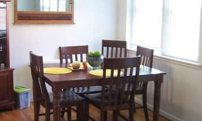 Dining Room, Riverhill Apartments, 1