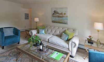 Living Room, Mansfield Village Apartments, 0